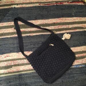 The Sak Navy Shoulder Bag